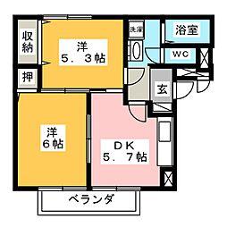 B2−C[2階]の間取り