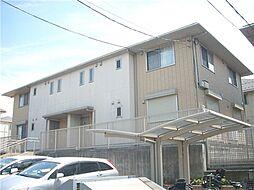 千葉県船橋市坪井東5丁目の賃貸アパートの外観