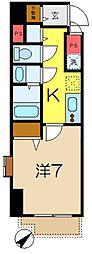 アイボリーコート[4階]の間取り