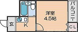 岸里玉出駅 3.2万円