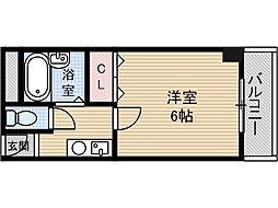 本町八番館[4階]の間取り