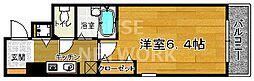 プレサンス京都烏丸御池II[301号室号室]の間取り