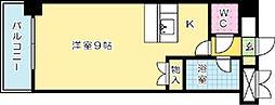 プレアール北方[202号室]の間取り