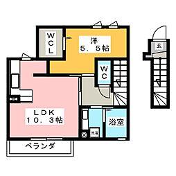 仮)D-room 蔵持町原出[2階]の間取り