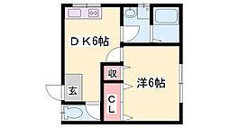JR播但線 寺前駅 徒歩20分の賃貸アパート