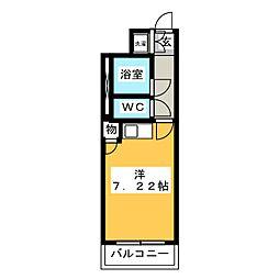 ホワイトコーポIII[1階]の間取り