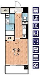 ソレアードコート[3階]の間取り