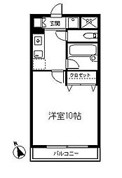さぎぬま山荘 A棟 2階[2階]の間取り