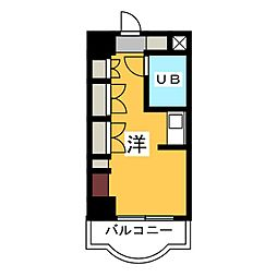 名古屋女子学生会館[4階]の間取り
