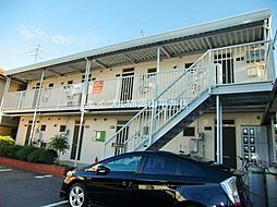 岡山県岡山市中区新京橋3丁目の賃貸アパートの外観