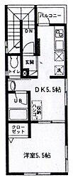 PUFF・アパートメント 〜パフ・アパートメント〜[3階]の間取り