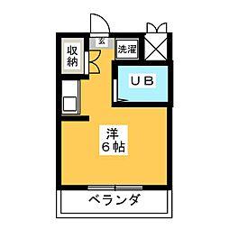 植田スイートハウス[2階]の間取り