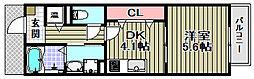 ディアコート村田[1階]の間取り