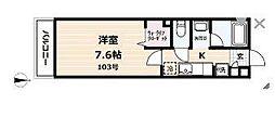 erizo湘南[1階]の間取り