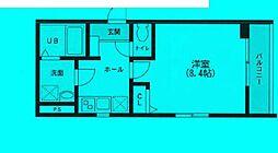 東京都豊島区南池袋の賃貸マンションの間取り