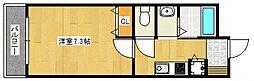 クオリアけやき通り[3階]の間取り