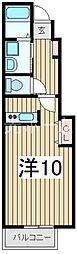 プリムローズレジデンス[1階]の間取り