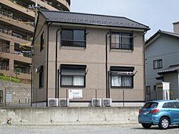 千葉県松戸市大金平1丁目の賃貸アパートの外観