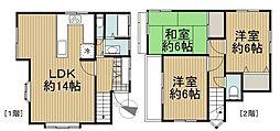 [一戸建] 東京都西東京市柳沢4丁目 の賃貸【/】の間取り