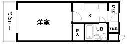 山一マンション下松貮番館[405号室]の間取り