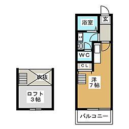 ツインソフィア A棟[1階]の間取り