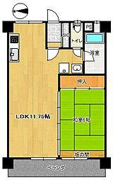 仙台柏木市街地住宅[4階]の間取り