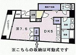 熊谷ビル[1階]の間取り