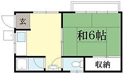 春菜ハイツ袋井[3階]の間取り
