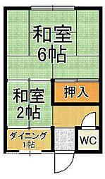 [タウンハウス] 兵庫県尼崎市塚口本町2丁目 の賃貸【/】の間取り