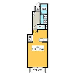 スペランツァII[1階]の間取り