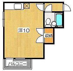 メゾン福島[2階]の間取り