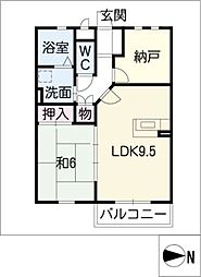 MIRADOR[1階]の間取り