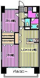 プレリュード桜木町[1階]の間取り