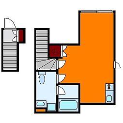 kiba flagge[2階]の間取り