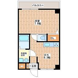 花崎マンション[4階]の間取り