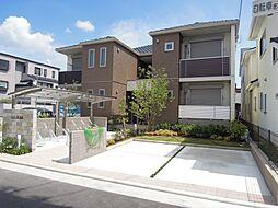 大阪府八尾市陽光園2丁目の賃貸アパートの外観