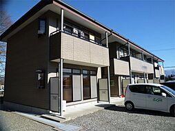 長野県伊那市御園の賃貸アパートの外観