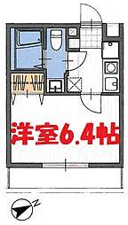 JR京浜東北・根岸線 石川町駅 徒歩9分の賃貸アパート 1階1Kの間取り
