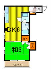フローラム神戸[3階]の間取り