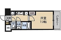 S-RESIDENCE新大阪駅前[2階]の間取り