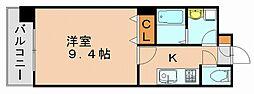 プレジール弐番館[3階]の間取り