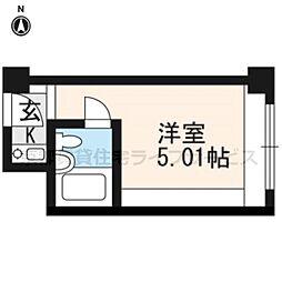 ANTEROOM KYOTO[430号室]の間取り