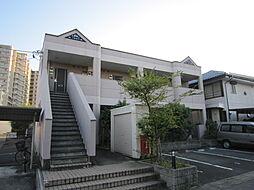 愛知県長久手市上川原の賃貸アパートの外観