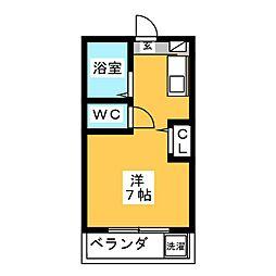 メゾンフクイ[2階]の間取り
