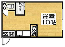 加賀ハイツ[3階]の間取り