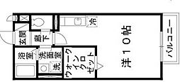 コゥジィーコート[1階]の間取り