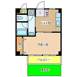 NSハイム[1階]の間取り