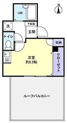 東葉高速鉄道 八千代中央駅 4階建 築19年[4階]の間取り