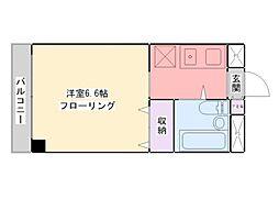 グランドゥール浅草[3階]の間取り