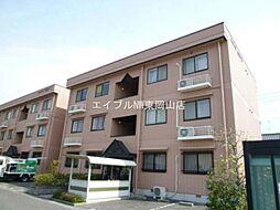岡山県岡山市中区四御神丁目なしの賃貸マンションの外観